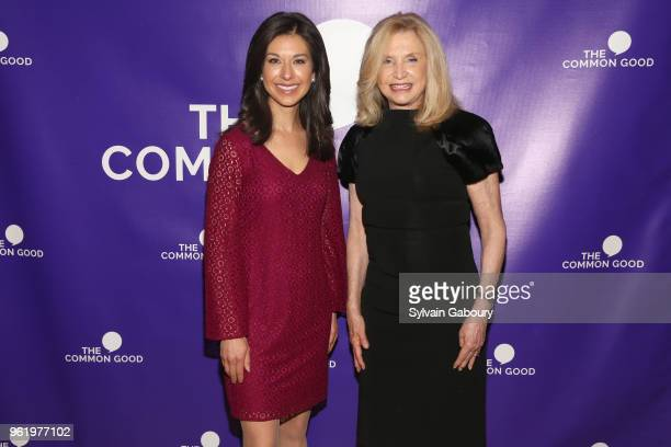 Ana Cabrera and Carolyn Maloney attend The Common Good Forum American Spirit Awards 2018 at The Common Good Forum on May 21 2018 in New York City Ana...