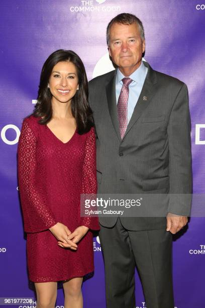 Ana Cabrera and James Winnefeld attend The Common Good Forum American Spirit Awards 2018 at The Common Good Forum on May 21 2018 in New York City Ana...
