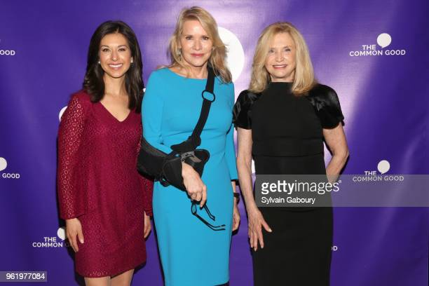 Ana Cabrera Patricia Duff and Carolyn Maloney attend The Common Good Forum American Spirit Awards 2018 at The Common Good Forum on May 21 2018 in New...