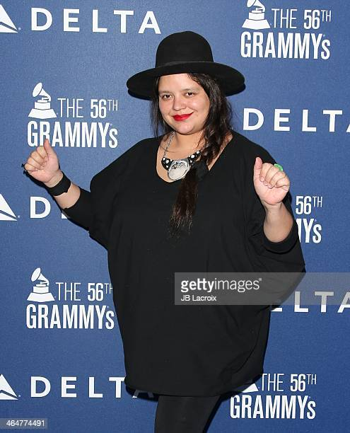 Ana Calderon attends the Delta Air Lines 2014 GRAMMY Weekend Private Reception And Performance With Lorde held at Soho House on January 23 2014 in...