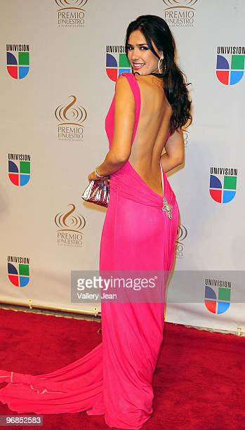 Ana Carolina da Fonseca arrives at Univisions 2010 Premio Lo Nuestro a La Musica Latina Awards>> at American Airlines Arena on February 18 2010 in...