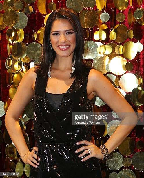 Ana Carolina Da Fonseca at The 'Mi Sueno Es Bailar' Season Two Press Conference held at The Liberman Broadcasting on March 12 2012 in Burbank...