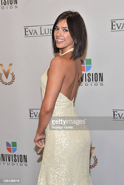 Ana Carolina da Fonseca attends Univisions Eva Luna premiere at the Four Ambassadors Suites Hotel on November 1 2010 in Miami Florida