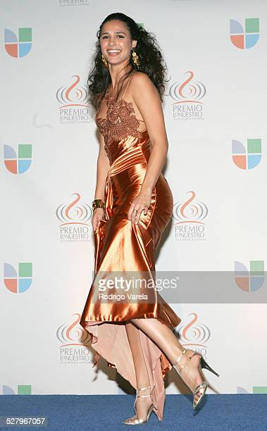 Ana Carolina da Fonseca during 2005 Premio Lo Nuestro Awards Press Room at American Airlines Arena in Miami Florida United States