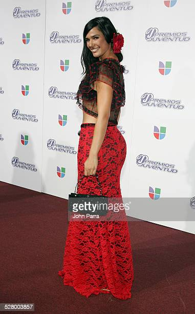 Ana Carolina da Fonseca during 2005 Premios de la Juventud Arrivals at University of Miami in Coral Gables Florida United States