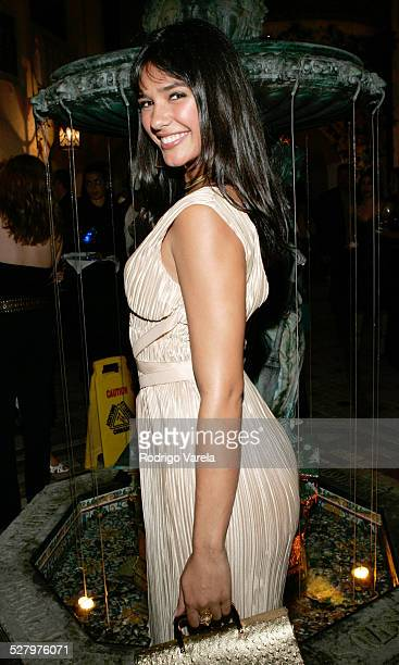 Ana Carolina da Fonseca during AE Mundo and The History Channel Party at Casa Casuarina in Miami Beach Florida United States
