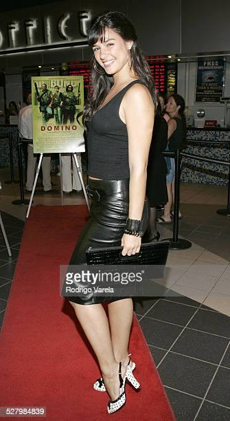 Ana Carolina da Fonseca during Domino Miami Screening October 5 2005 at Regal South Beach Cinema in Miami Beach Florida United States