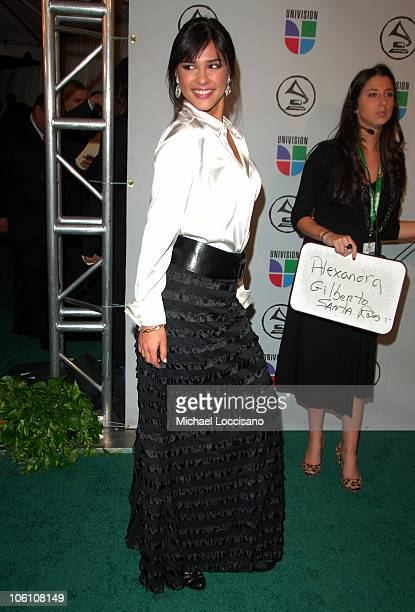 Ana Carolina da Fonseca during The 7th Annual Latin GRAMMY Awards Arrivals at Madison Square Garden in New York City New York United States