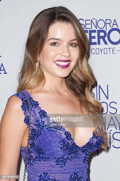 Ana Carolina Grajales attends premiere of new Telemundo productions Silvana Sin Lana Sin Senos Si Hay Paraiso and Senora Acero 3 La Coyote at Conrad...