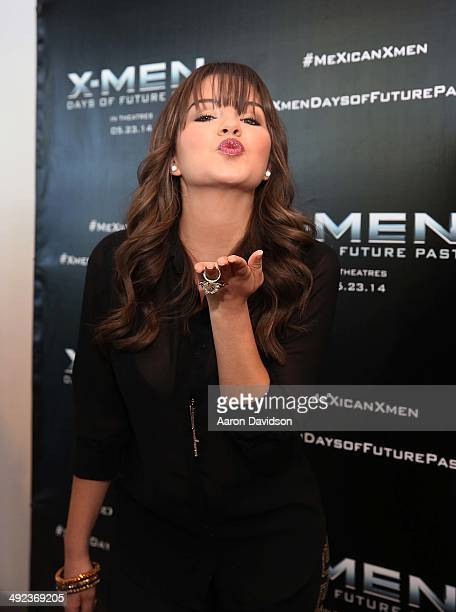 Ana Carolina Grajales attends XMEN Days of Future Past Red Carpet Hosted by Adan Canto at Regal South Beach on May 19 2014 in Miami Florida