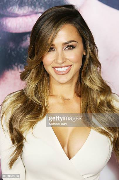 "Ana Cheri arrives at the Los Angeles premiere of ""Manny"" held at TCL Chinese Theatre on January 20, 2015 in Hollywood, California."