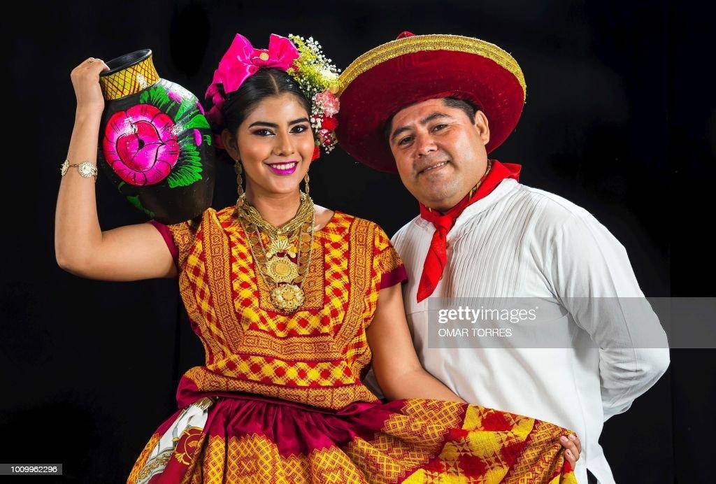 MEXICO-GUELAGUETZA-FESTIVAL : News Photo