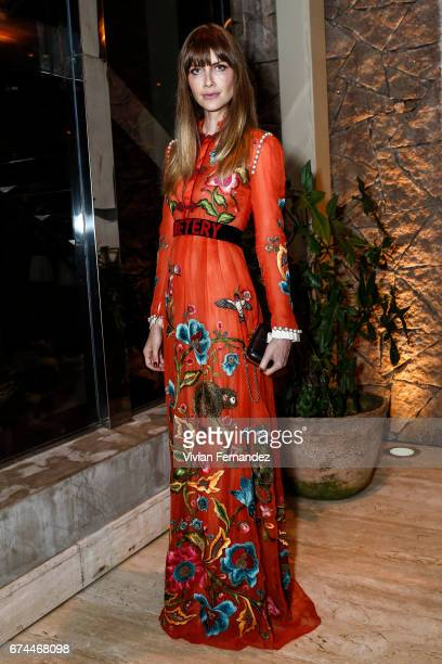 Ana Claudia Michels attends the 7th Annual amfAR Inspiration Gala on April 28 2017 in Sao Paulo Brazil
