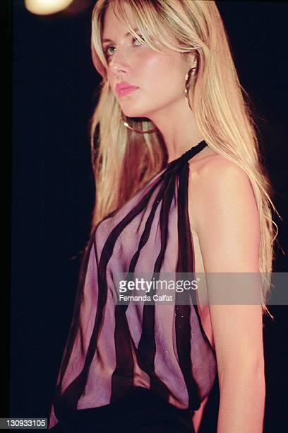 Ana Claudia Michels during 2000 Sao Paulo Fashion Week Forum at Bienal Ibirapuera in Sao Paulo Sao Paulo Brazil