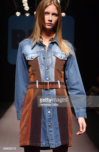 Ana Claudia Michels during Goias Marca Moda Fashion Shows Br Blue at Oliveira's Place in Goiania Goias Brazil