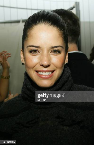 Ana Claudia Talancón during Spring Fashion Fling with Tu Ciudad Magazine Party at Eduardo Lucero Boutique in Los Angeles California United States
