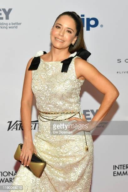 Ana Claudia Talancon attends the 2019 International Emmy Awards Gala on November 25, 2019 in New York City.