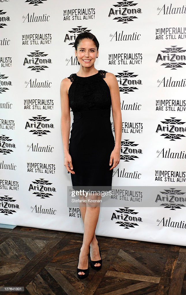Ana Claudia Talancon attends The Atlantic Magazine And AriZona Beverages Los Angeles Premiere Of 'The Imperialists Are Still Alive!' at Soho House on April 19, 2011 in West Hollywood, California.