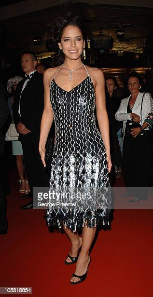 Ana Claudia Talancon during 2006 Cannes Film Festival Fast Food Nation Departures at Palais Du Festival in Cannes France