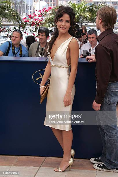 Ana Claudia Talancon during 2006 Cannes Film Festival Fast Food Nation Photocall at Palais du Festival Terrace in Cannes France