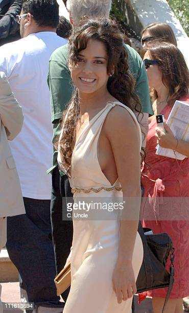 Ana Claudia Talancon during 2006 Cannes Film Festival Seen Around Cannes Day 4 in Cannes France