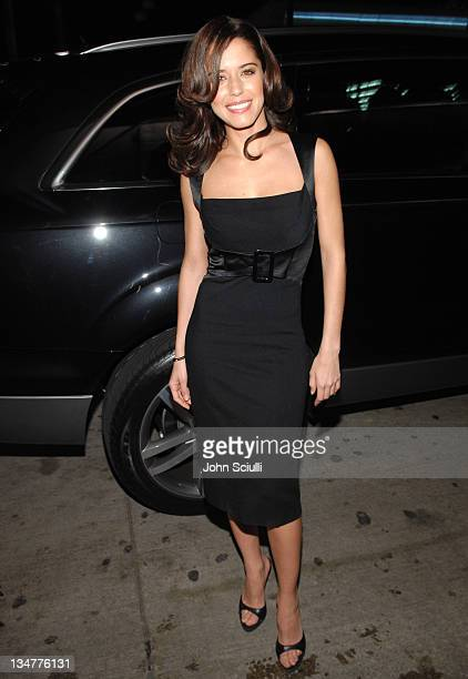 Ana Claudia Talancon during Hollywood Life's Breakthrough of the Year Awards Audi Arrivals at Music Box in Los Angeles California United States