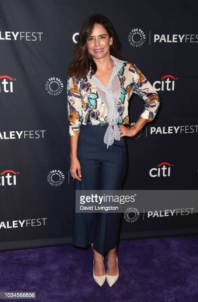 Ana Claudia Talancon from El Recluso attends The Paley Center for Media's 2018 PaleyFest Fall TV Previews Telemundo at The Paley Center for Media on...
