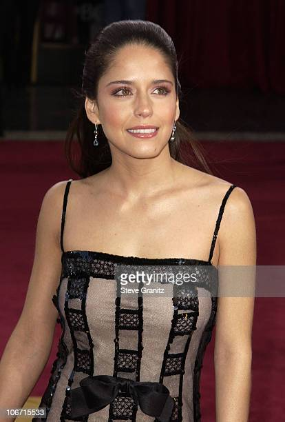 Ana Claudia Talancon wearing Chanel during The 75th Annual Academy Awards Arrivals at The Kodak Theater in Hollywood California United States