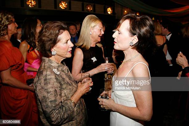 Ana Clemencia Fox and Edmee Firth attend New York City Opera's SPRING GALA Henry Purcell's KING ARTHUR at New York State Theater on March 5 2008 in...