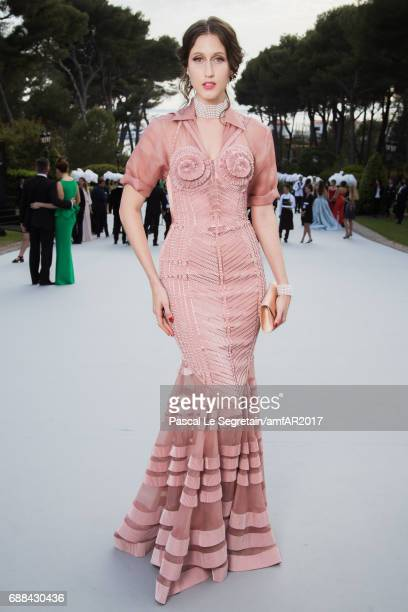 Ana Cleveland attends the amfAR Gala Cannes 2017 at Hotel du CapEdenRoc on May 25 2017 in Cap d'Antibes France