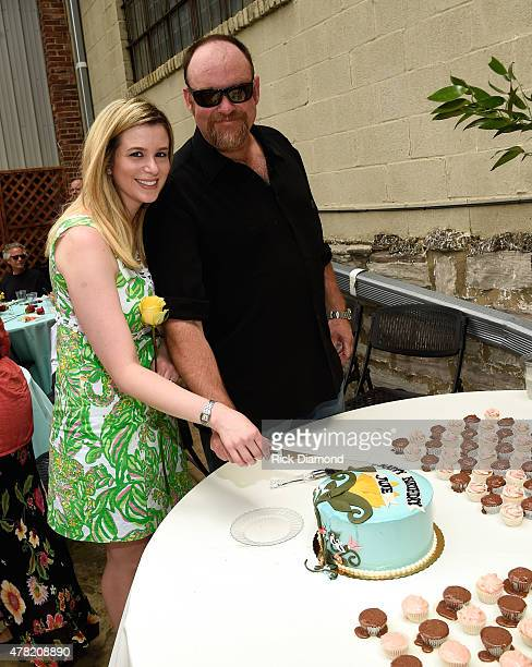 Ana Cristina and John Carter Cash attend the June Carter Cash Birthday Celebration At The Opening Of The June Carter Cash Wildwood Flower Garden at...