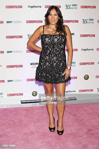 Ana Cristina Fox attends the Cosmopolitan magazines 40th anniversary celebration at the Westin Hotel on October 4, 2012 in Mexico City, Mexico.