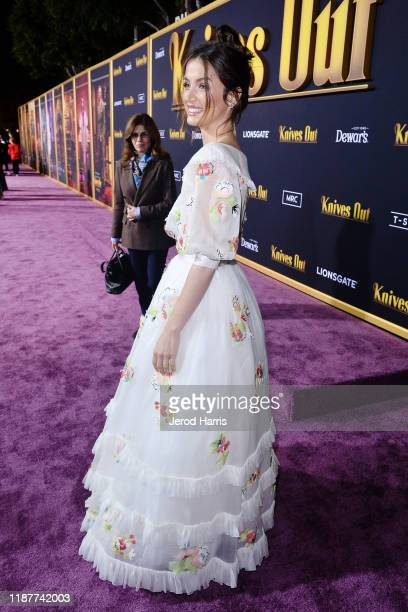Ana de Armas arrives at the Premiere of Lionsgate's 'Knives Out' at Regency Village Theatre on November 14 2019 in Westwood California