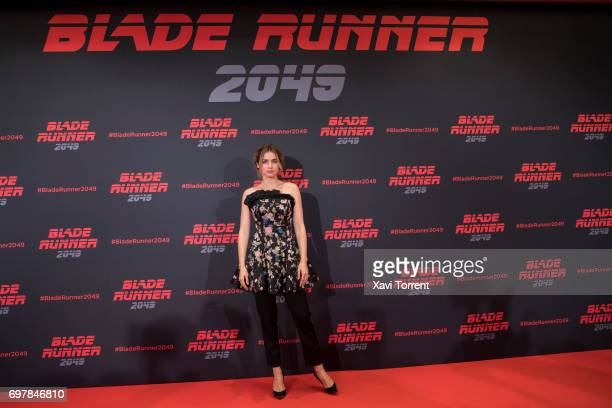 Ana de Armas attends 'Blade Runner 2049' photocall at Arts Hotel on June 19 2017 in Barcelona Spain