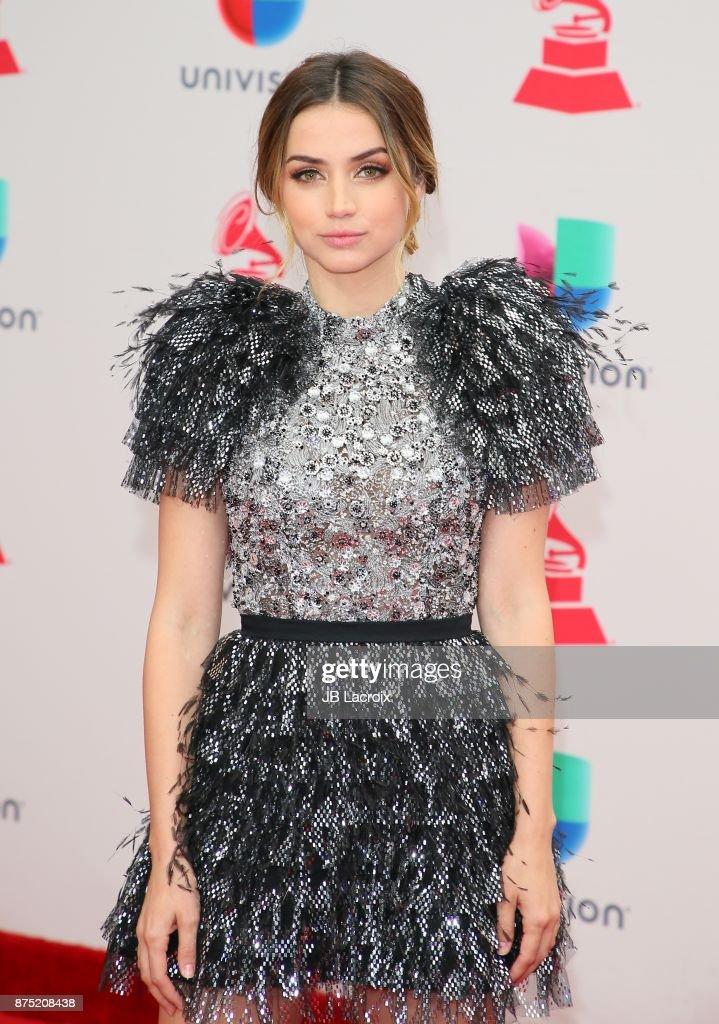 Ana de Armas attends the 18th Annual Latin Grammy Awards on November 16, 2017 in Las Vegas, Nevada.