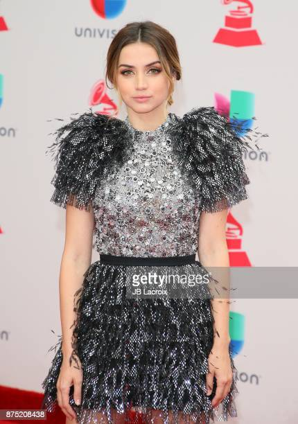 Ana de Armas attends the 18th Annual Latin Grammy Awards on November 16 2017 in Las Vegas Nevada