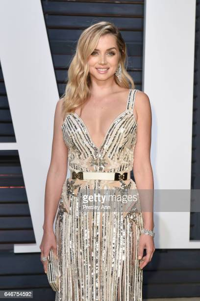 Ana de Armas attends the 2017 Vanity Fair Oscar Party hosted by Graydon Carter at Wallis Annenberg Center for the Performing Arts on February 26 2017...