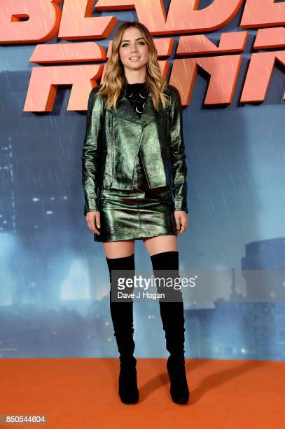 Ana de Armas attends the 'Blade Runner 2049' photocall at The Corinthia Hotel on September 21 2017 in London England
