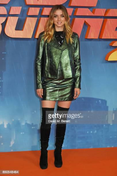 Ana de Armas attends the Blade Runner 2049 photocall at The Corinthia Hotel on September 21 2017 in London England