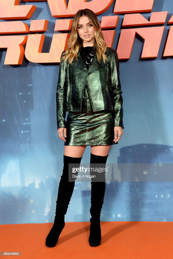 Ana de Armas attends the 'Blade Runner 2049' photocall at The Corinthia Hotel on September 21, 2017 in London, England.