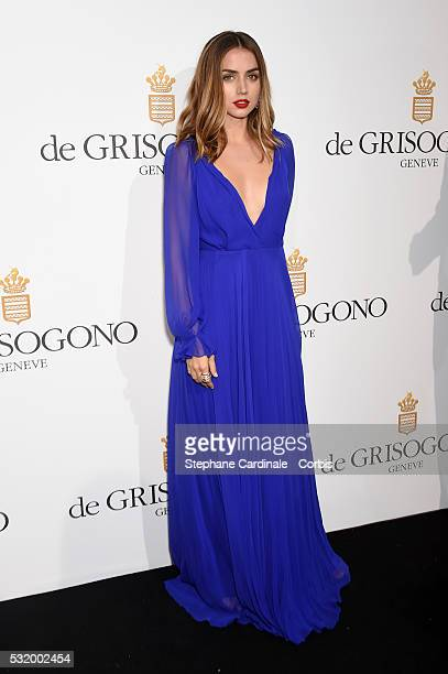 Ana de Armas attends the De Grisogono Party during the annual 69th Cannes Film Festival at Hotel du CapEdenRoc on May 17 2016 in Cap d'Antibes France