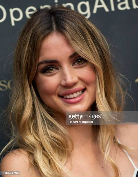 Ana de Armas attends the opening of Hotel Alabriga on July 7 2017 in Girona Spain