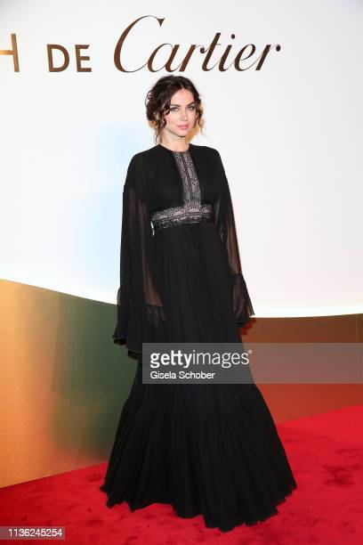 Ana de Armas during the Clash de Cartier event at la Conciergerie on April 10 2019 in Paris France