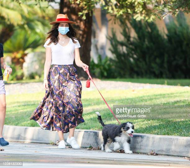 Ana de Armas is seen on August 20 2020 in Los Angeles California