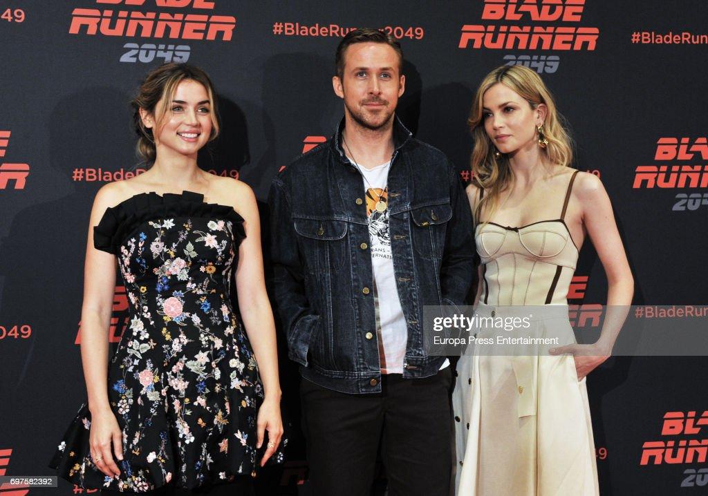 'Blade Runner 2049' Photocall In Barcelona