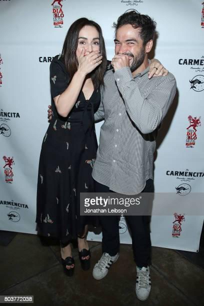 Ana de La Reguera and Alfonso Herrera attend the La Carmencita Celebrates Its Grand Opening on June 29 2017 in Los Angeles California