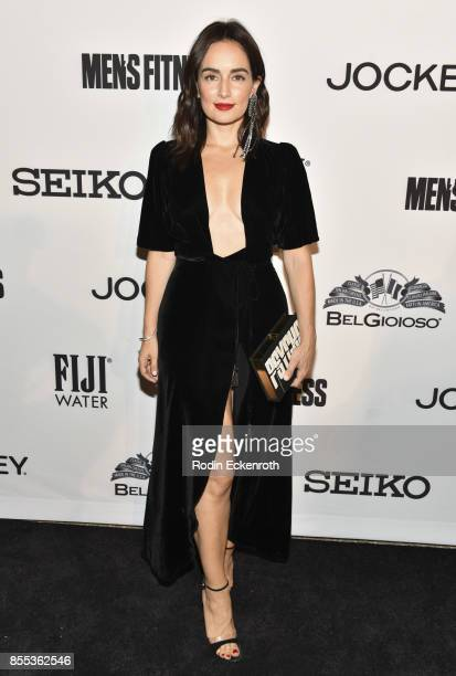 Ana de la Reguera arrives at Men's Fitness 2017 Annual Game Changers event at a private residence on September 28 2017 in Beverly Hills California
