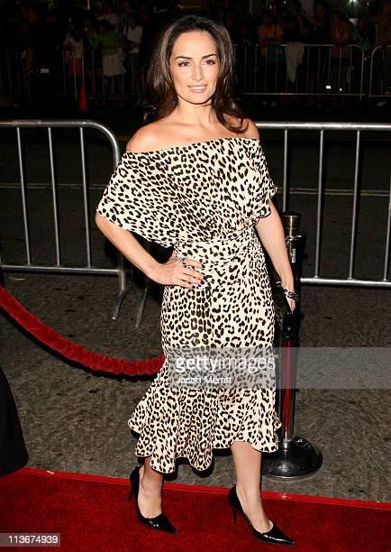 Ana De La Reguera during 'Babel' Los Angeles Premiere Arrivals at Mann Village in Westwood California United States