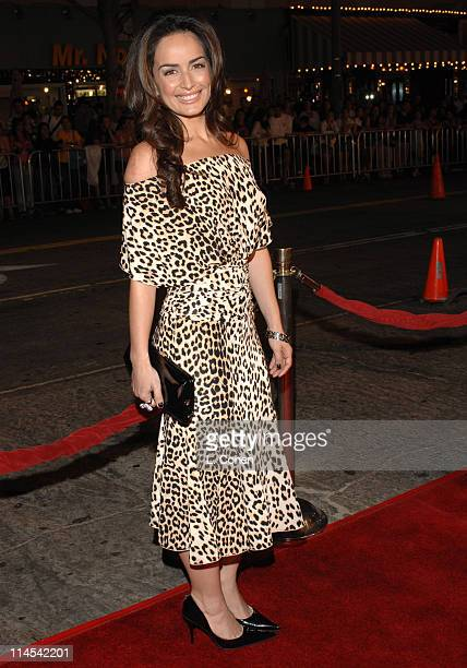 Ana De La Reguera during Babel Los Angeles Premiere Red Carpet at Mann Village in Westwood California United States