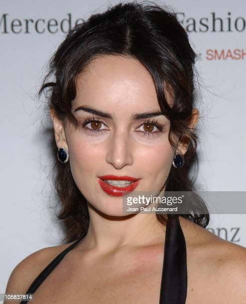 Ana de la Reguera during MercedesBenz Fall 2006 LA Fashion Week at Smashbox Studios Day 1 Arrivals at Smashbox Studios in Culver City California...